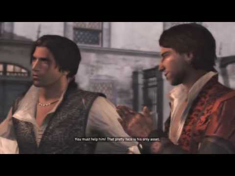 Assassin S Creed Ii Cutscene Introducing Ezio Auditore Youtube