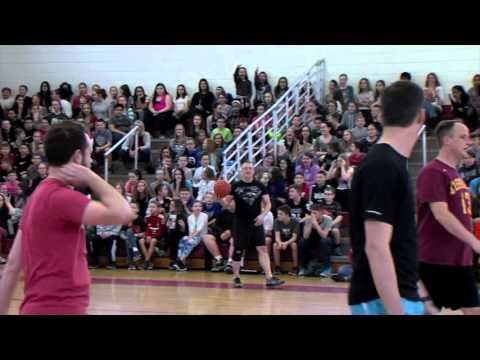 Memorial Middle School - Staff vs Students Basketball Game
