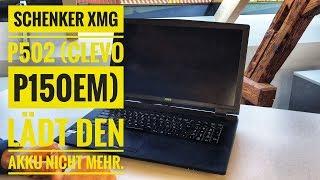 Schenker XMG U706 Display bleibt nach dem Einschalten schwarz