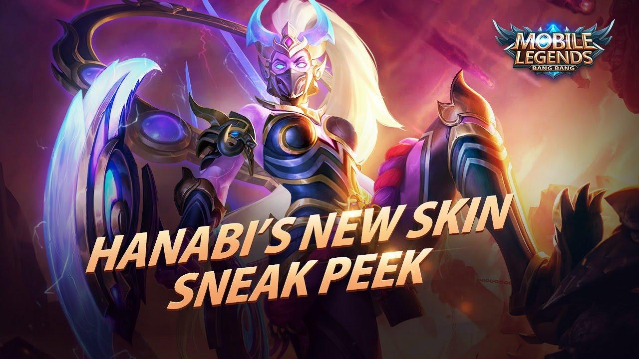 hanabi's new skin   rakshesha   mobile legends:bang bang!