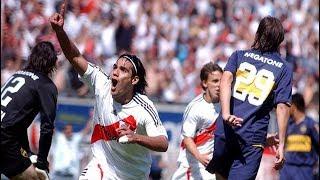 El Dia que Falcao Destruyó a Boca Juniors ● BOCA JUNIORS VS RIVER PLATE