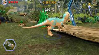 Lego Jurassic World. The Checkpoint Race. Safari Plains, Jurassic World.