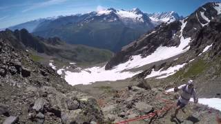 80 km du Mont Blanc 2015, avant la nuit, récit de course