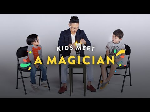 Kids Meet a Magician!