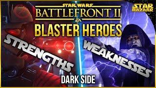 Gambar cover Blaster Hero Strengths And Weaknesses (Dark Side) | Star Wars Battlefront 2 Tips