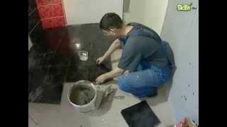 Ремонт в ванной облицовка плиткой