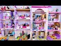 Two Parties in Two Houses - Lego Friends Story for kids ...