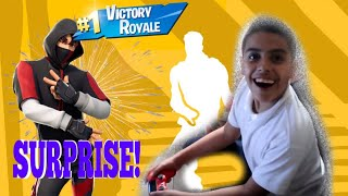 Fortnite - surprising my brother the ikonic skin (reaction)