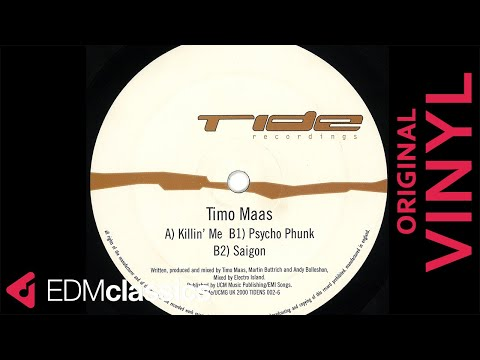 Timo Maas - Psycho Phunk (2000) - VINYL