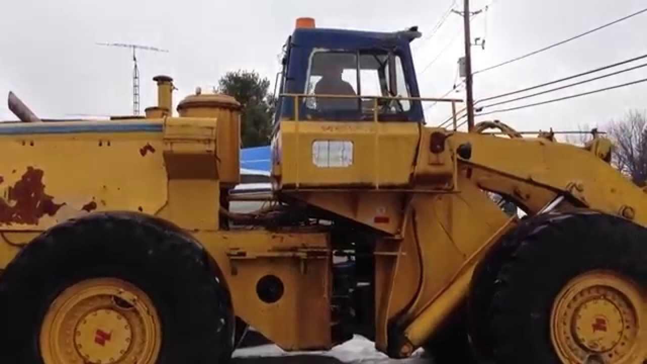 Hough 120 loader
