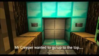 Best MineCraft Elevator ever! With music!