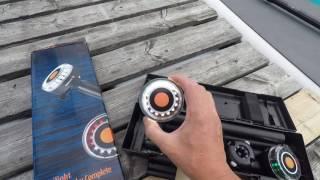 Navigation lights for stand up paddle board