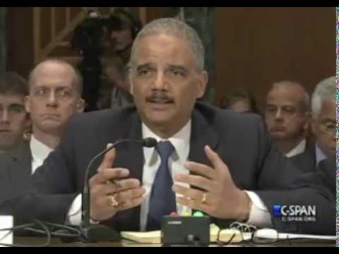 Watch Eric Holder Refuse to Answer Whether Congress' Phones Were Monitored