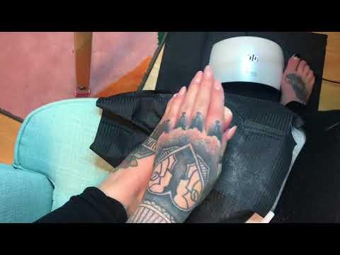Gel na nohách - Gel on my feet finger nails