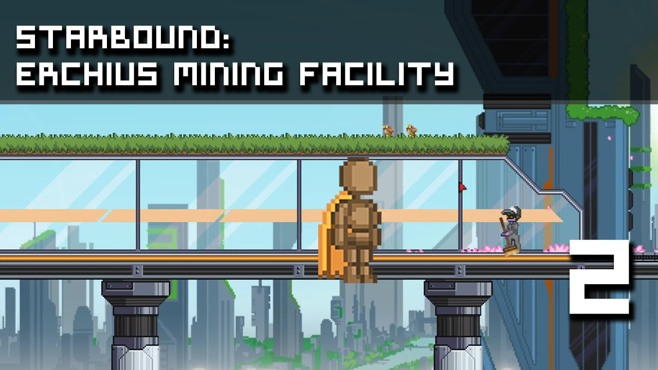 starbound mining facility