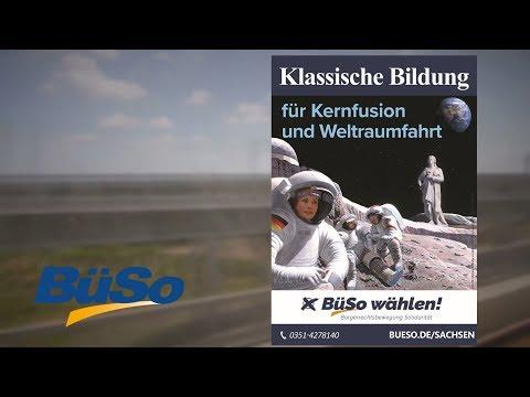 BüSo Wahlwerbung zur sächsischen Landtagswahl 2019