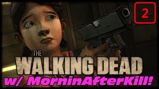 The Walking Dead Season 1 Long Road Ahead Ep 2! Who's The Rat Bastard Thief!