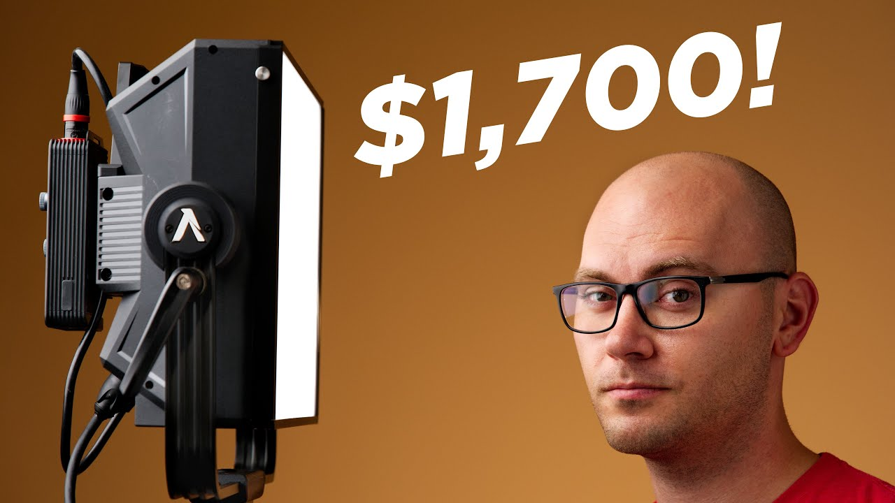 Is this LED Video Light Worth $1,700?! Aputure Nova P300c Review