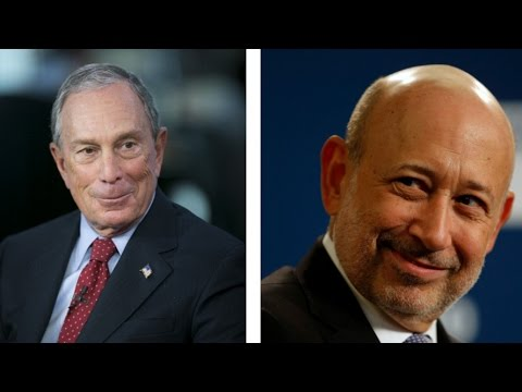 Goldman CEO Lloyd Blankfein & Mike Bloomberg Talk Small Businesses in America