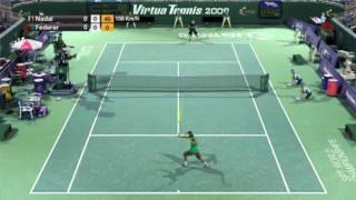 Virtua Tennis 2009 PC Game Play - HD Quality
