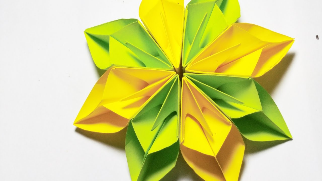 Origami Tutorials Easy How To Make Paper Flower Craft