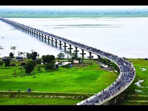 #شاهد | إفتتاح أطول جسر في #الهند بطول 9.15 كيلومترات  - نشر قبل 1 ساعة