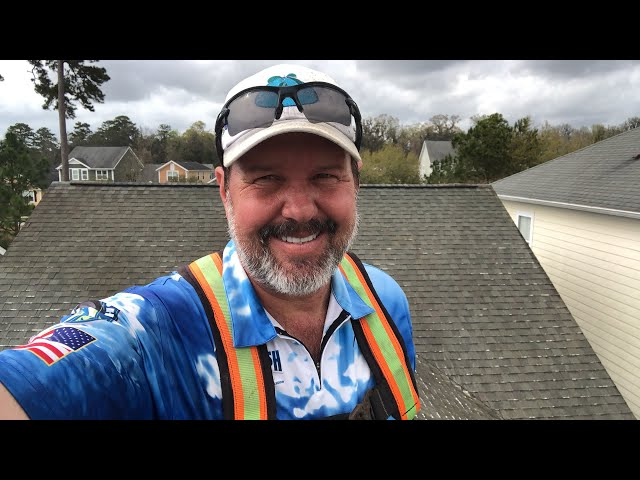 Roof cleaning live