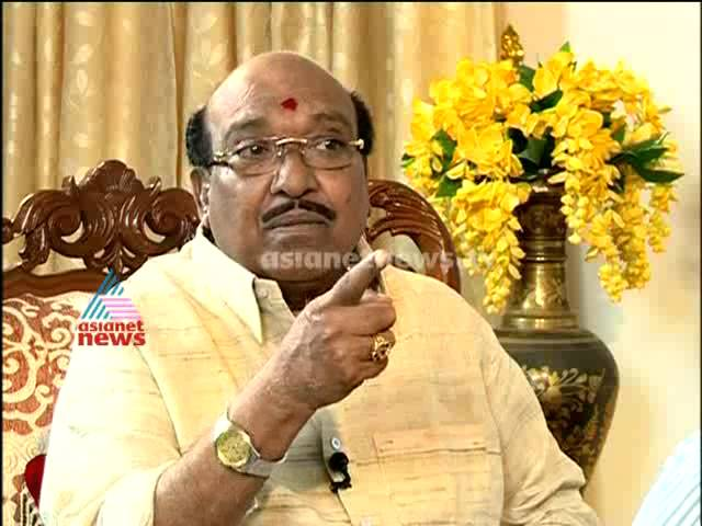 Point Blank: interview with Vellappally Natesan