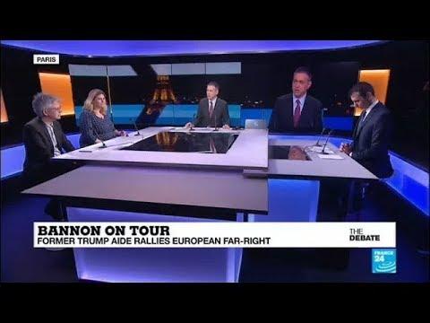 Bannon on Tour: Former Trump aide rallies European far-right