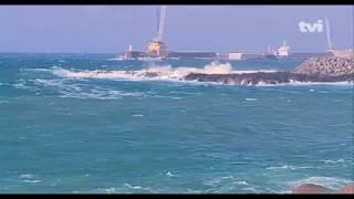 Reportagem TVI24 sobre a passagem da Tempestade Helene