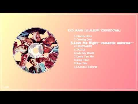 [FULL+DL] EXO JAPAN 1st ALBUM『COUNTDOWN』