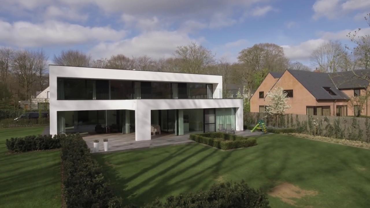 Dumobil strak moderne minimalistische villa moduleerbaar en