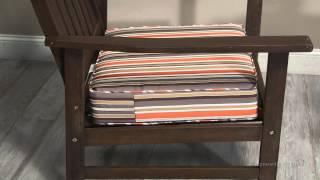 Coral Coast Outdoor Furniture Deep Seating Seat Cushion - 22.5l X 21.5w X 5h