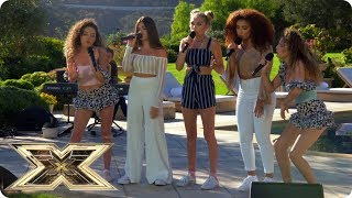 Sweet Sense sing History at Judges' Houses | Judges' Houses | The X Factor UK 2018