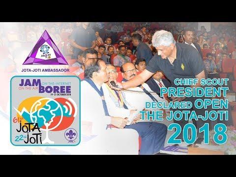 JOTA~JOTI~JOTS - SL Station Report - 2018 (Sri Lanka Scouts Hub)