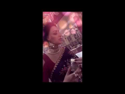 Tu Aashiqui Set Dinner & Masti Jannat Zubair With Co-stats New #2017
