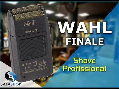 fa3cf8cde Unboxing Apresentação Máquina de Acabamento Shaver Wahl Finale - 5 star