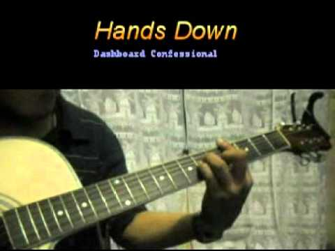 Hands Down Chords Youtube