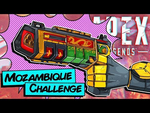 Clapping Cheeks With The Mozambique -Apex Legends- Mozambique ONLY!