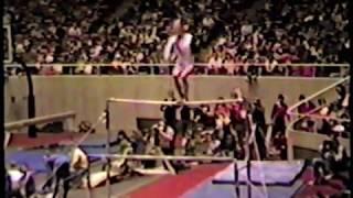 Baixar U of Utah Gymnast Emily May uneven bar routine 1981