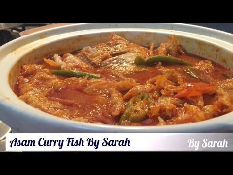 ASAM CURRY FISH HEAD #the Taste Of Singapore #singapore Food #nyonya Asam Curry