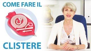 Repeat youtube video Come farsi un clistere (enteroclisma) a casa per depurare l'intestino. By Simona Vignali Naturopata