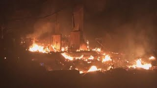 Wildfires destroy hundreds of homes in Northern California
