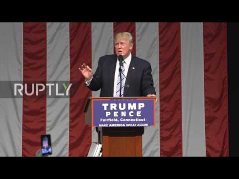"USA: Trump threatens to close ""garbage paper"" New York Times if elected"