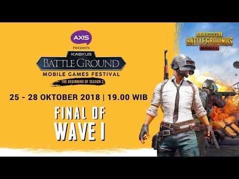[DAY 3] FINAL STAGE KASKUS Battleground Season 3 Wave 1: PUBG