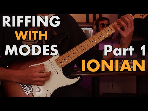 Riffing With Modes #1: Writing with Major/Ionian [Rock/Prog style]