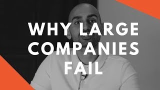 One (SHOCKING) Reason Large Companies Fail