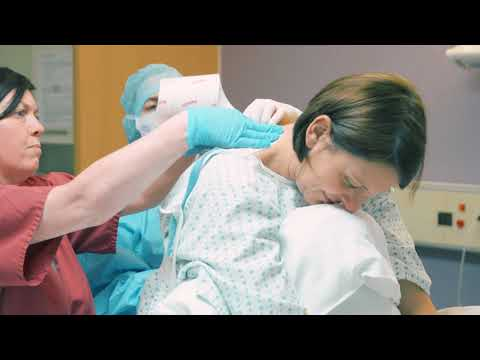 Having an epidural in labour at St Michael's Hospital
