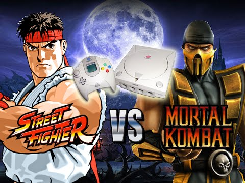 Max Plays Street Fighter Vs Mortal Kombat Lost Dreamcast Game