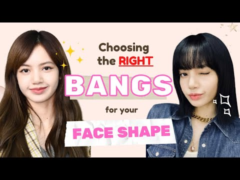 Which BANGS suit my FACE SHAPE? 💇 EVERYTHING you SHOULD KNOW before getting bangs!